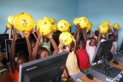 Children in the ICT Unit in Buea