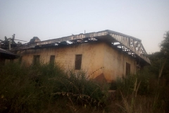 Houses burnt in Belo Sub Division 2
